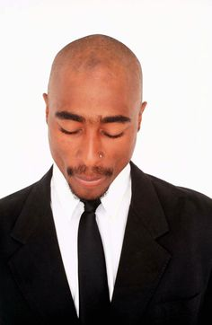 Tupac Shakur, the late, great rapper and Rennaisence man.
