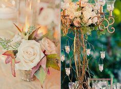 Vintage-feel floral arrangements #weddings #decor #blisschicago