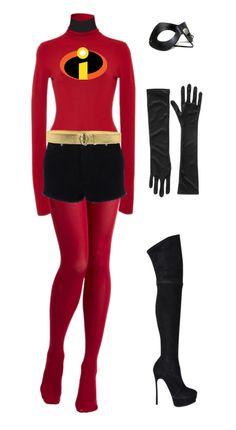Mrs. Incredible costume