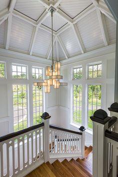 New House - Wayne, PA - traditional - staircase - philadelphia - Peter Zimmerman Architects