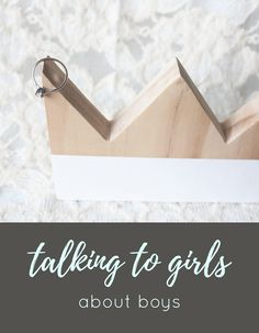 Some great tips for talking to girls about boys in a small group setting. Tansquared Youth Ministry