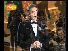 """Plácido Domingo: """"Solamente una vez amé en la vida"""" - YouTube"""