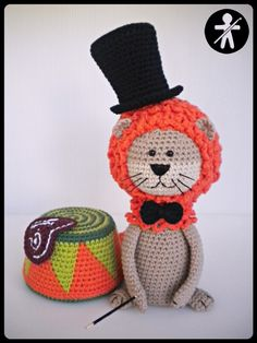 "AmigurumisFanClub ...Here's our entry to AmigurumiPatterns.net's design contest 2016 ""Circus""!!!"