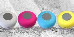 Bluetooth Waterproof Shower Speakers - $15.99! - http://www.pinchingyourpennies.com/bluetooth-waterproof-shower-speakers-15-99/ #Jane, #Waterproofspeaker