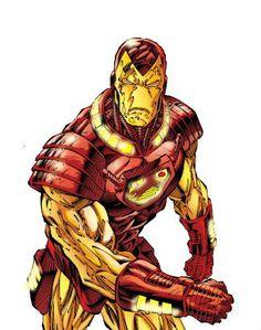 Iron Man Armor Model 16 by Ian Churchil Marvel Art, Marvel Dc Comics, Marvel Avengers, Comic Book Artists, Comic Books, Iron Man Art, Man Thing Marvel, Deathstroke, Geek Art