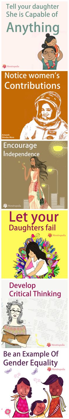Fathers who implement the six strategies below empower their daughters to develop into strong confident women, who pursue their passions and find their voice. Source: http://goodmenproject.com/families/6-ways-fathers-can-empower-their-daughters-kt/