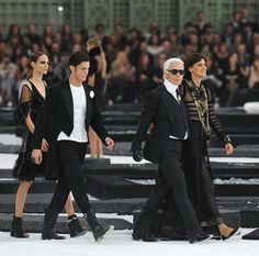 karl lagerfeld He is such a powerful man