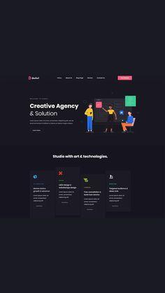 Corporate Website Design, Website Design Company, Website Designs, Website Ideas, Minimal Web Design, Graphic Design Tips, Modern Web Design, Ui Ux Design, Website Layout