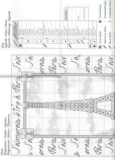 Gallery.ru / Фото #3 - Эйфелева башня и королевские лилии - DELERJE