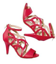 f58f8cb600612 Red sandals on sale by Avon Red Sandals