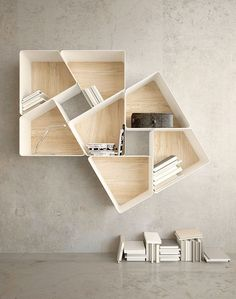 Modular Bookcase Plans - Modular Bookcase Plans , Diy Rustic Bookcase This is so Simple yet Effective Metal Design, Wood Interior Design, Design Furniture, Interior Decorating, Rustic Bookcase, Modern Bookcase, Design Living Room, Home Room Design, Classic Wall Paint