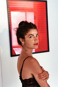 The Man Repeller is going out and she's wearing red lipstick and 100 pieces of jewelry