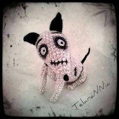 Amigurumi Frankenweenie of Tim Burton. by TelaraNNia on Etsy