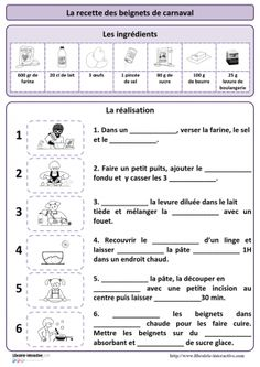 Pour plus clique ci-dessous Mardi Gras, Beignets, Canadian Culture, French Verbs, Core French, French Classroom, French School, Thematic Units, Classroom Language