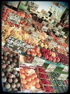 Vienna Market Fruit Stand