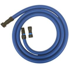 Antistatic Vacuum Hose with Universal Power Tool Adapter Set for Wet/Dry Vacuums, Blue Garage Vacuums, Dry Vacuums, Dust Collection Hose, Brand Power, Porter Cable, Thing 1, Wet And Dry, Power Tools, Tool Design