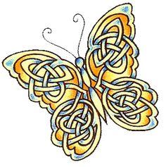 Celtic Butterfly #celtic #tattoos