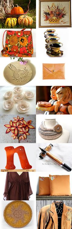 Remembering Fall by Danae - The Classy Jewelry Box on Etsy--autumn art scene autumn photo ceramic coffee mug ceramic dish flower appliques handcrafted pen heart pillow hummel figurines infinity scarf leather wallet maxi dress messenger bag paper flower art suede jacket theclassyjewelrybox treasury vintage letter wicker plate