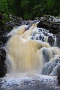 The Falls Of Muick (by Len Watson)