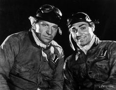 Wallace Beery, Clark Gable-- Hell Divers, 1931
