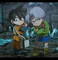Goten e Trunks Goten E Trunks, Vegeta And Trunks, Dragon Ball Z, Dragon Z, Manga Anime, Anime Art, Fashion Art, Vegeta And Bulma, Chibi Characters