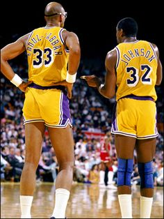 Magic and Kareem .. 2 of the best!
