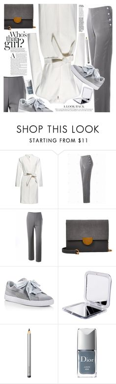 """Stylish pants"" by vanjazivadinovic ❤ liked on Polyvore featuring Puma, Laura Mercier, Christian Dior, polyvoreeditorial and gamiss"