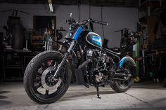 Lucid Moto Co. builds one of a kind custom motorcycles in Calgary for clients who seek something out of the ordinary.
