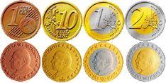 Alle euromunten - Euromunten en biljetten Euro