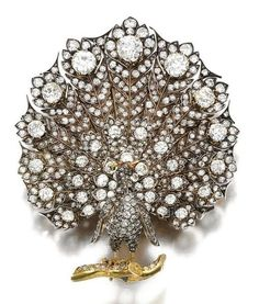 Ruby and diamond brooch, Second half 19th Century