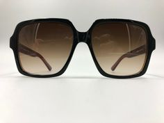 13eea8d13ab GUCCI GG0438 C3 Black and Gray Frame Gradient Lens 58-19-145 Made in