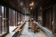 Neri&Hu encloses guest rooms and gardens within grid of brick walls at Tsingpu Yangzhou Retreat