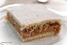Cucinare con amore: Skvostný jablečný koláč Kolache Recipe, Good Food, Yummy Food, Czech Recipes, No Bake Pies, Baked Goods, Sweet Tooth, Cheesecake, Food And Drink