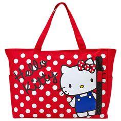Hello Kitty Tote Bag Mega Zip SANRIO JAPAN