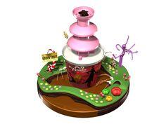 画像B:WONKA ウォンカ チョコレートファウンテン こちらは2012年秋のキャンペーン商品でした♪ 2013年はキャンペーン景品はwebでチェック!