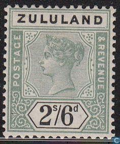 1896 Zululand - Queen Victoria Colonial, Empire, Postage Stamp Collection, Kwazulu Natal, Queen Victoria, Commonwealth, Stamp Collecting, Postage Stamps, Great Britain