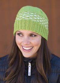 Seedling Hat pattern - from Love of Knitting magazine's special Knit Accessories 2014 Issue