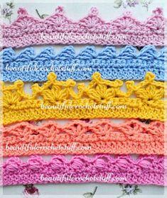 Best 25+ Crochet edging patterns