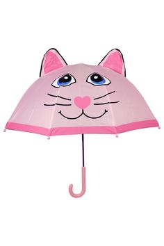 Pink Kitty Umbrella on HauteLook – Life Style Cat Umbrella, Under My Umbrella, Pink Love, Pretty In Pink, Im A Princess, Baby Fashionista, Unique Purses, Pink Cat, Everything Pink