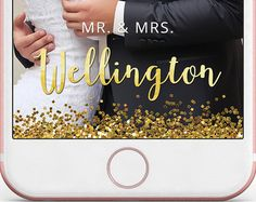 This listing for is for a Wedding Snapchat Geo Filter Personalized Custom On-Demand Geofilter for your Wedding Day  // THE LISTING //  + This is a custom listing so it will not be available for Instant Download + Uploading your Geofilter to Snapchat IS NOT INCLUDED in this listing + Once you purchase this listing, I will customize the Geofilter based from your selected styles and I will send you a .png image file that you can directly upload to Snapchat. The file will be sent to your email…