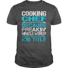 Awesome Tee For Cooking Chef T-Shirts, Hoodies. GET IT ==► https://www.sunfrog.com/LifeStyle/Awesome-Tee-For-Cooking-Chef-115414958-Dark-Grey-Guys.html?id=41382