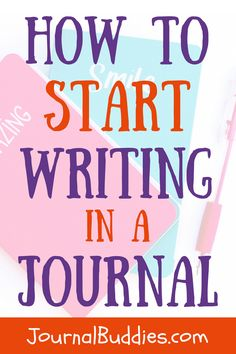 How to start journaling-- There are a lot of people who find joy in writing and journaling about their life. Journal writing is a fun activity that you can enjoy. It is up to you to make the moment delightful. So how can you start writing a journal entry? Click to learn more. via @journalbuddies