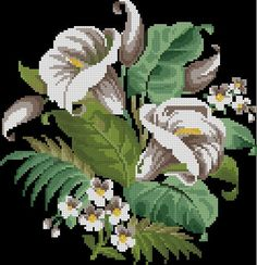 Lilies antique cross stitch and beadwork pattern Lilies antique cross stitch and beadwork pattern от Smilylana. Cross Stitch Designs, Cross Stitch Patterns, Mill Hill Beads, Free To Use Images, Cross Stitch Flowers, Native American Art, Beading Patterns, Cross Stitch Embroidery, Needlepoint