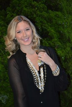 Tartan & Sequins: How We Style It: Mixing Gold, Silver, and Bronze Jewelry!