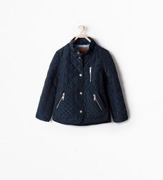 ZIPPED QUILTED COAT-Jackets-Girl (3-14 years)-KIDS | ZARA Canada