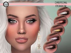 MP Dimentional Eyeshadow at BTB Sims – MartyP via Sims 4 Updates