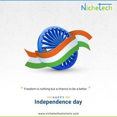 NicheTech is a prominent Web & Mobile app development company in India & USA. We are providing end to end IT services with focus on software product development, enterprise solution, quality assurance service and etc. 15 August Independence Day, Independence Day Greetings, Creative Instagram Stories, Instagram Story, Lord Krishna Wallpapers, Background Design Vector, India Usa, Color Quotes, Mobile App Development Companies