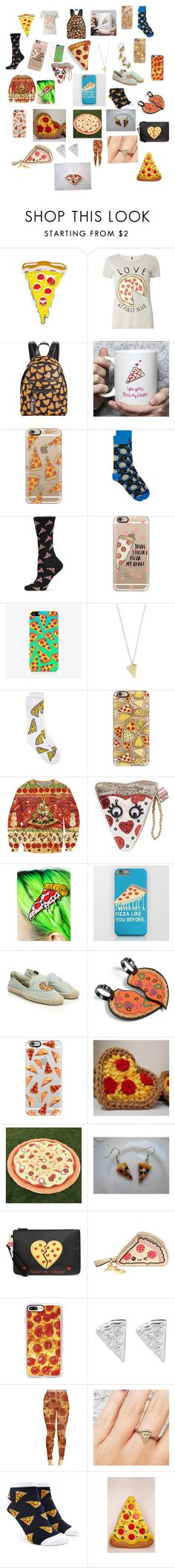 """Pizza!!! 🍕"" by lolo823 ❤ liked on Polyvore featuring Sourpuss, Dorothy Perkins, Circus by Sam Edelman, Casetify, HOT SOX, The Small Print., Rock 'N Rose, Betsey Johnson, Cheap Monday and Soludos"