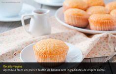 Muffin de Banana  (vegan)