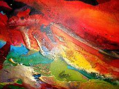 Handgemalt, Original-Artworks auf Leinwand - FREE SHIPPING für A LIMITED TIME Die Grafik-details Titel: Carribean Reef Gesamtgröße: 48 x 32(approx120x80cm) Farben: mehrere helle Farbe wäscht mit Gold/Kupfer/Bronze metallic Rahmung: gestreckt tief umrandeten Leinwand - fertig zum